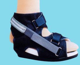 chaussure fracture orteil